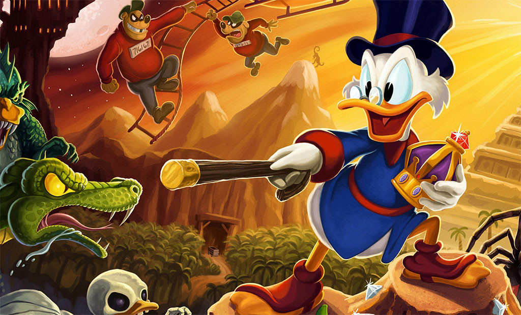 Playstation Plus Keeps getting better: Ducktales Remastered