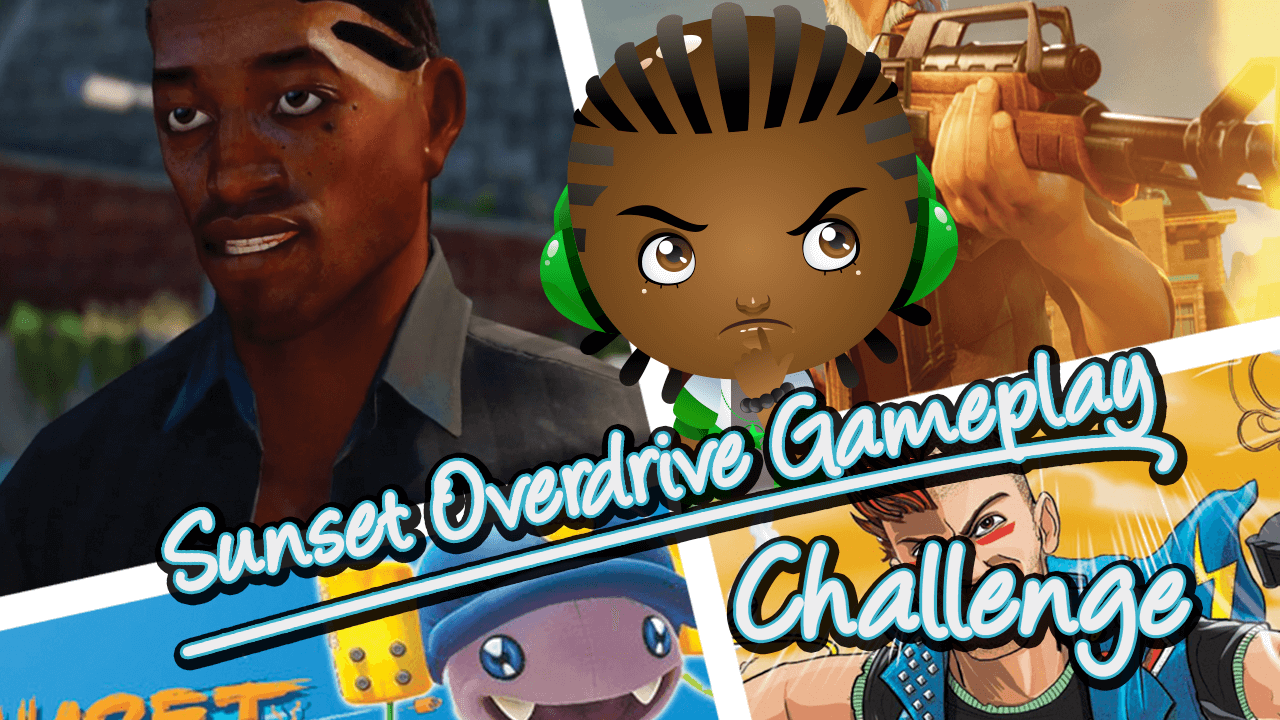 Sunset Overdrive Gameplay Challenge