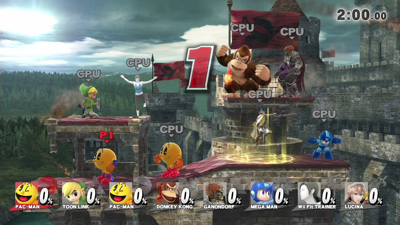 8 player smash stages