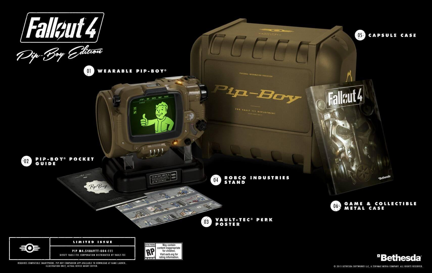 Fallout 4: Bethesda No More Pip-Boy UNITS