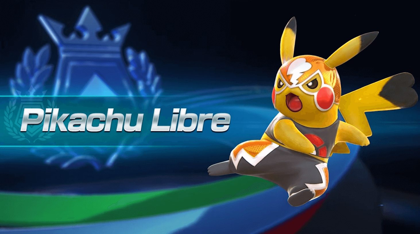 Lucha Libre Pikachu's Electrifying Move in Pokken Tournament Video