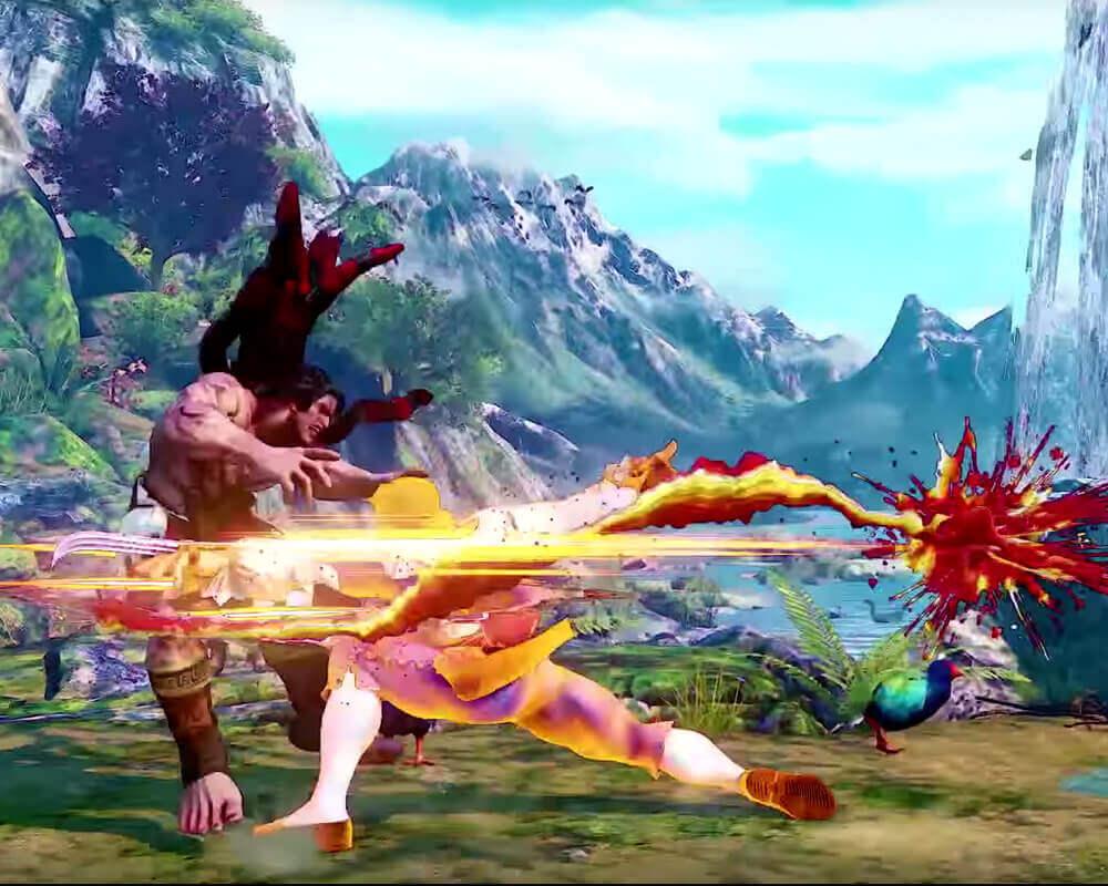 Brazilian Laura Replacing Blanka in Street Fighter V?