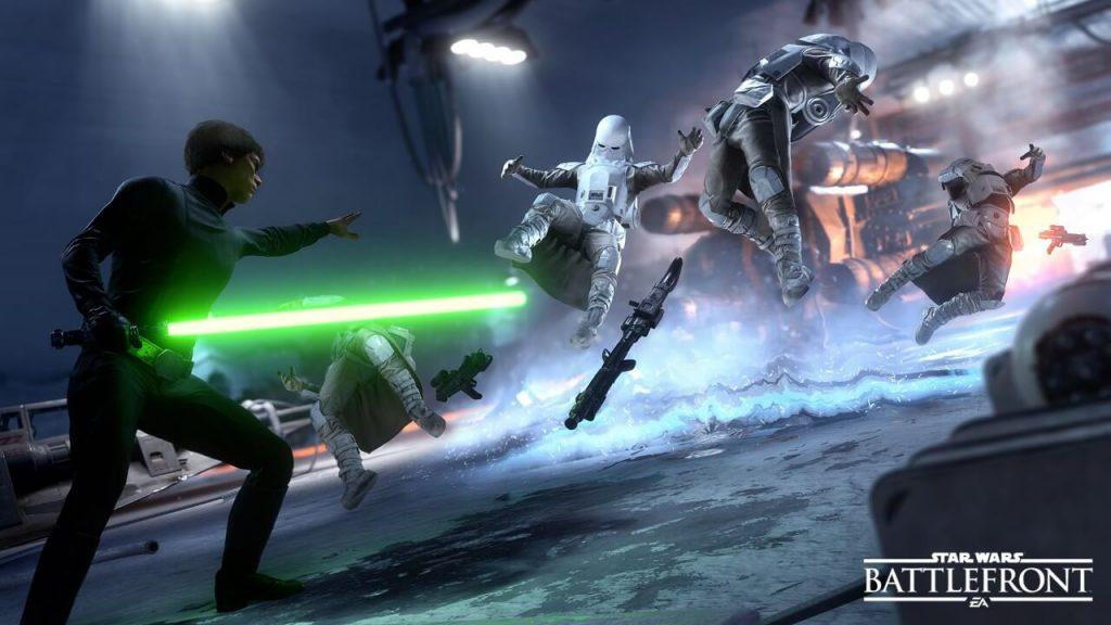 Who Breaks EA Download Records? Star Wars Battlefront Update