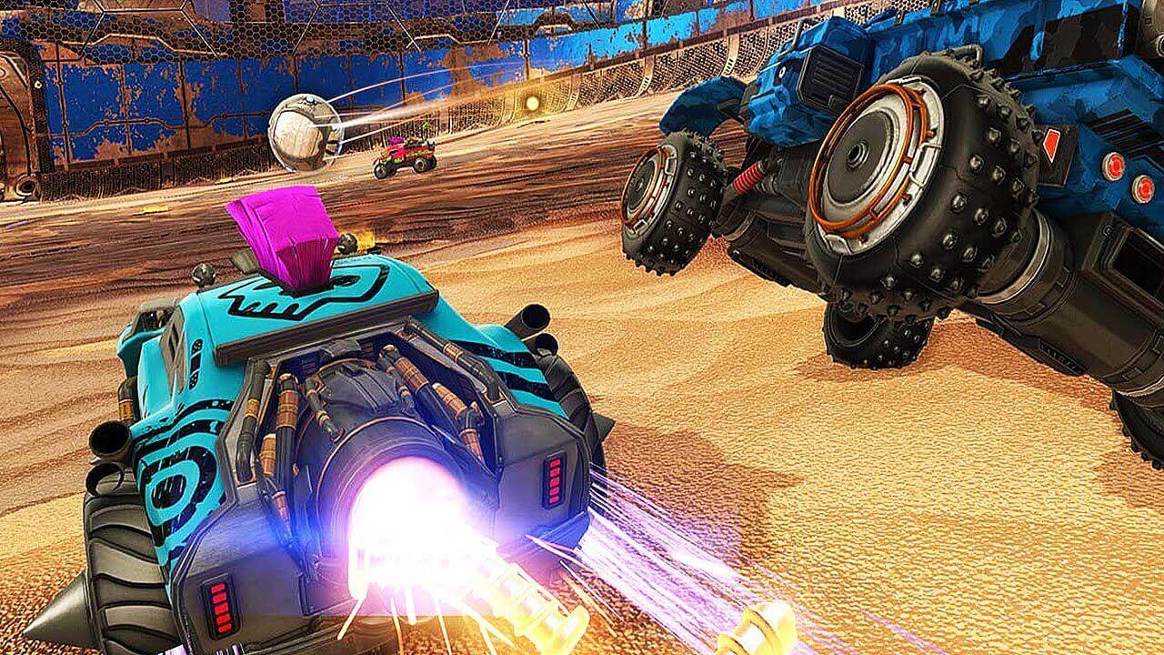 Rocket League Brings Mad Max Running DLC