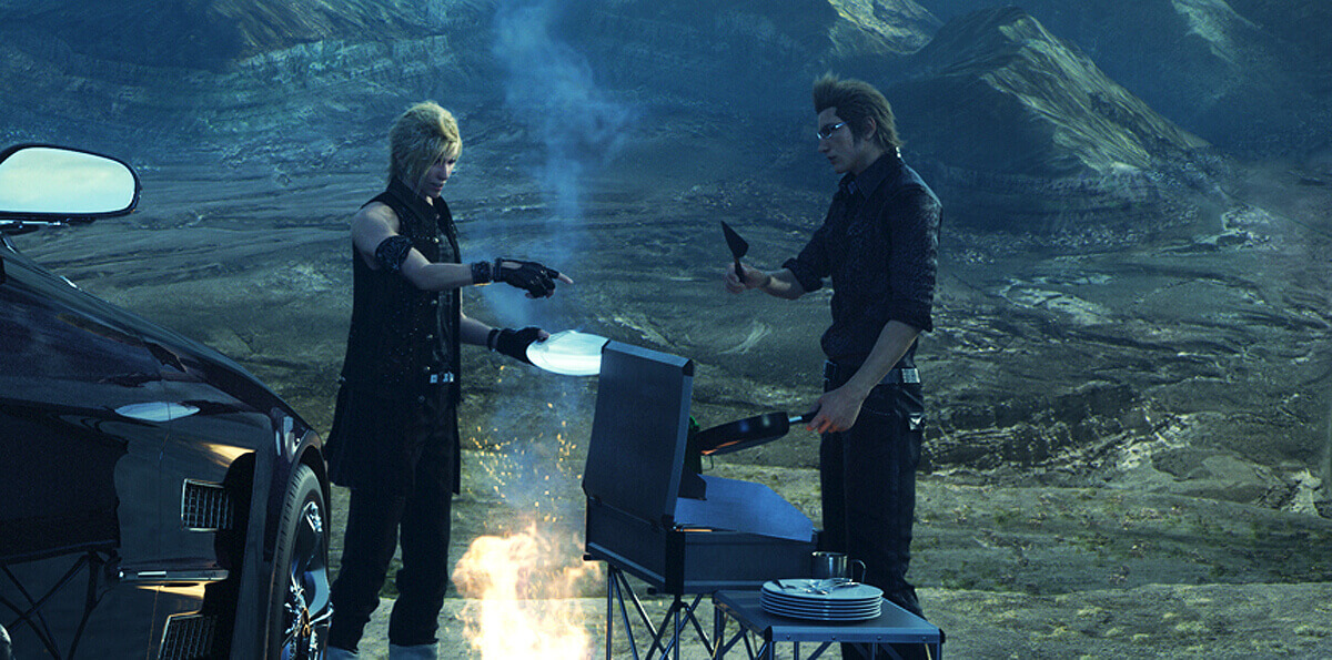 Final Fantasy 15 Update: Playable All Throughout