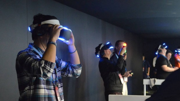 Sony to Reveal the PlayStation What Else VR Next Year
