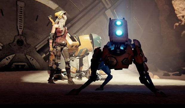 Zelda and Metroid-inspired Exclusively in ReCore of Xbox One