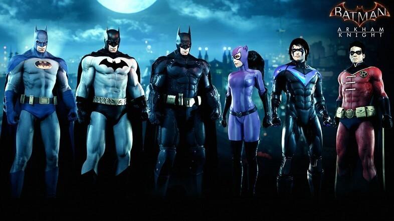 Release Date of Batman: Arkham Knight DLC Announced