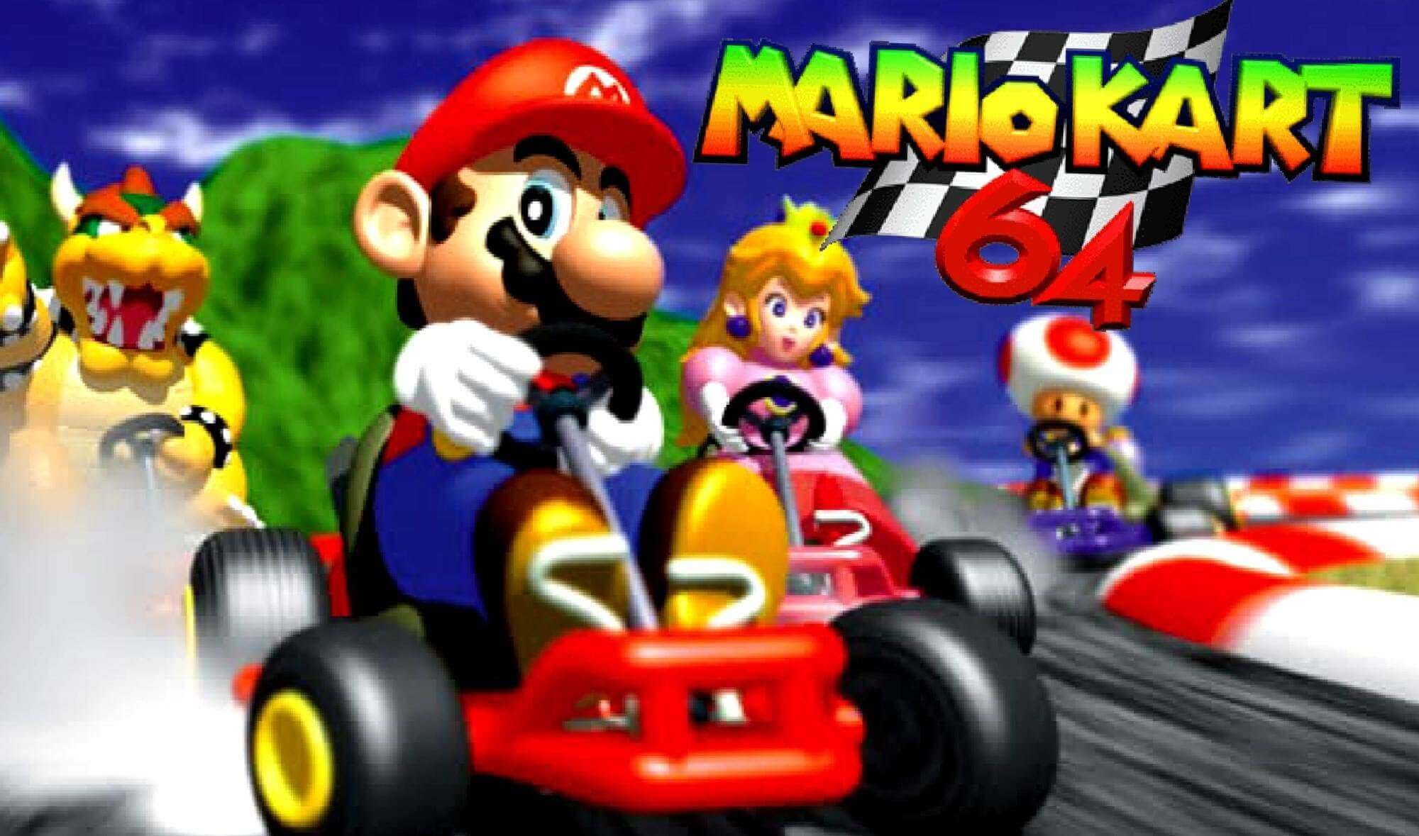Mario Kart 64 To Wii U Virtual Console This Week