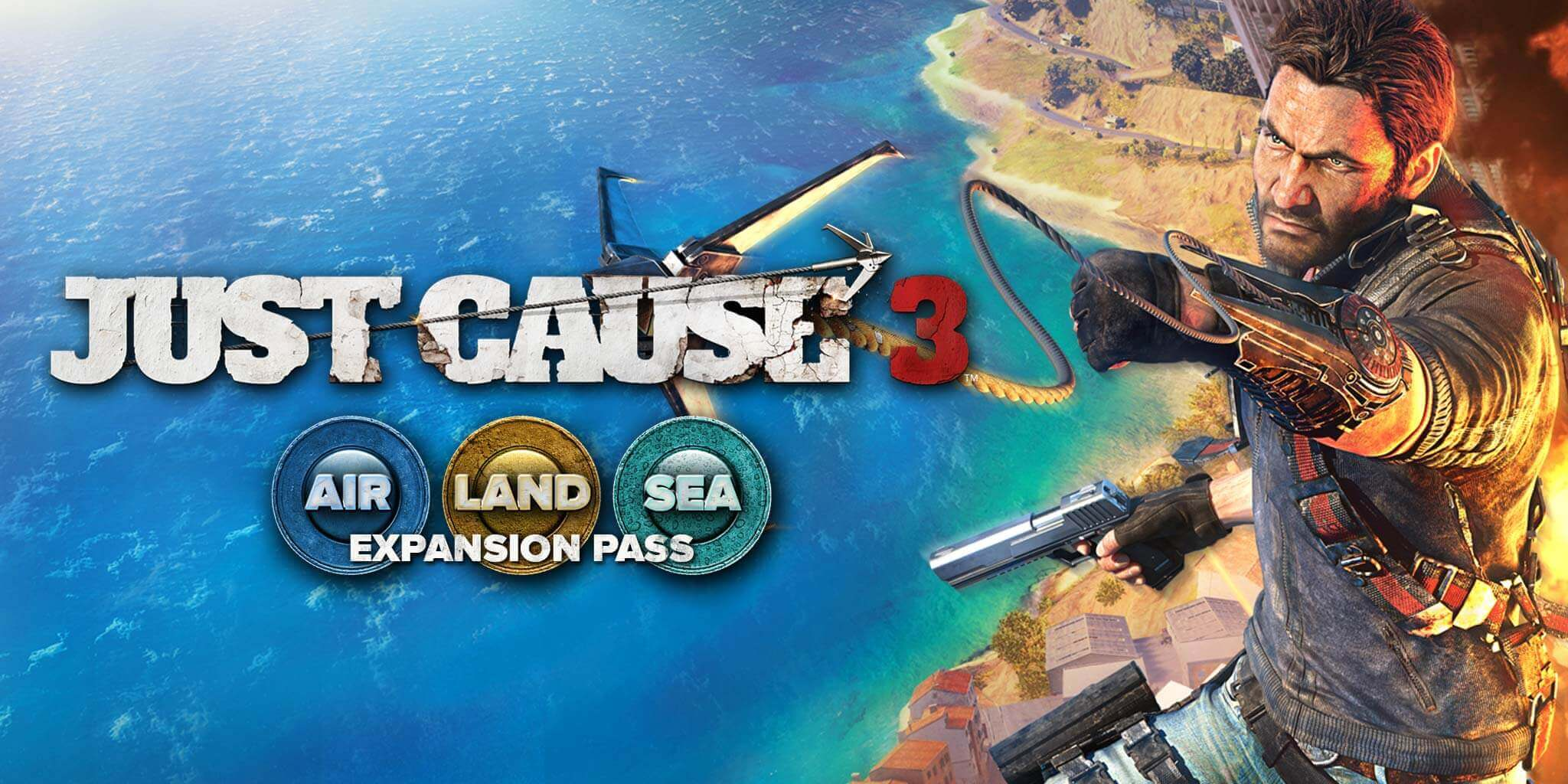 Just Cause 3 Sky Fortress DLC Update Fighter Jet Transformation
