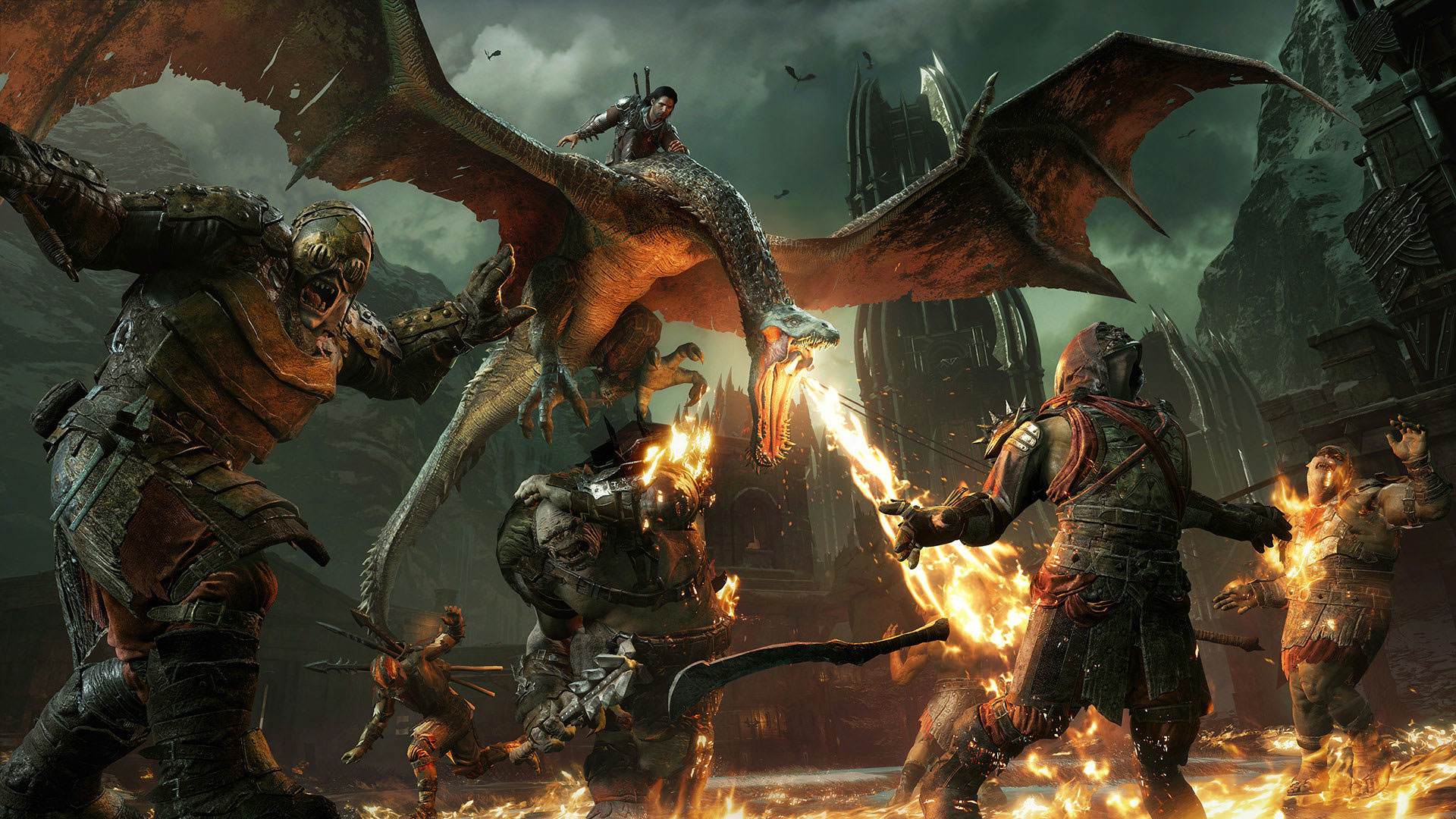 Middle-earth: Shadow of War's Forthog DLC Will Be Free