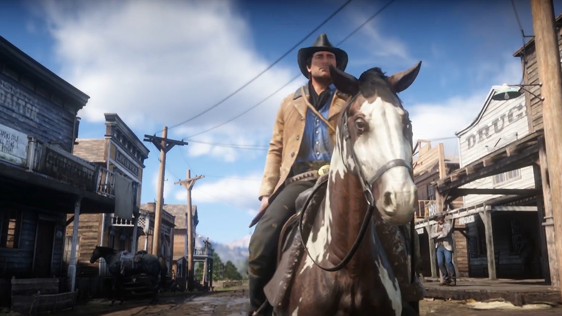Red Dead Redemption 2 Official Trailer 2 Urban Gameplay