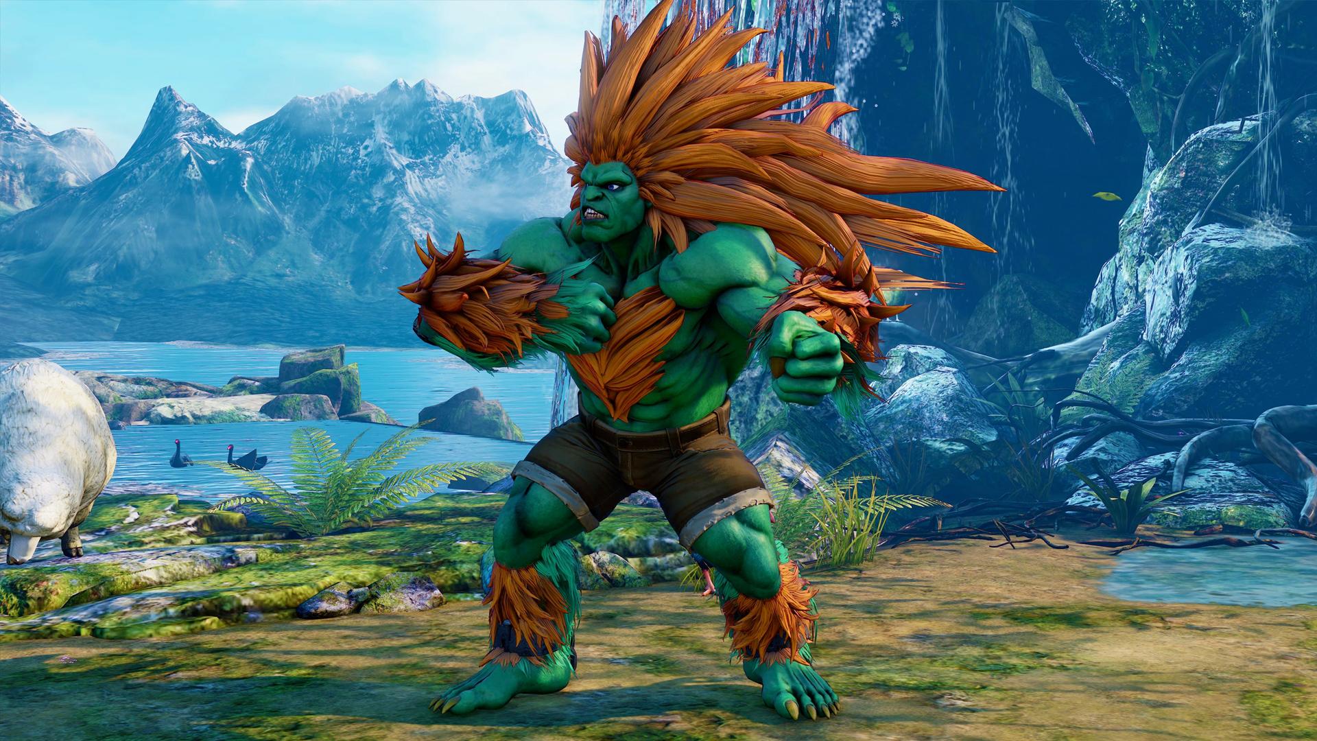 Blanka Street Fighter 5 Gameplay Trailer