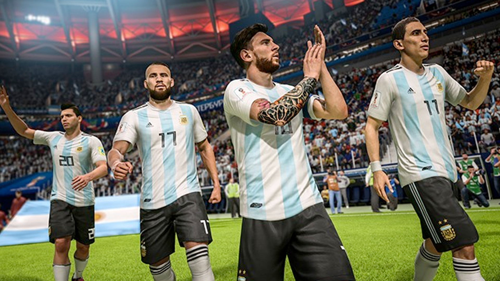 FIFA 18 World Cup Update Confirmed