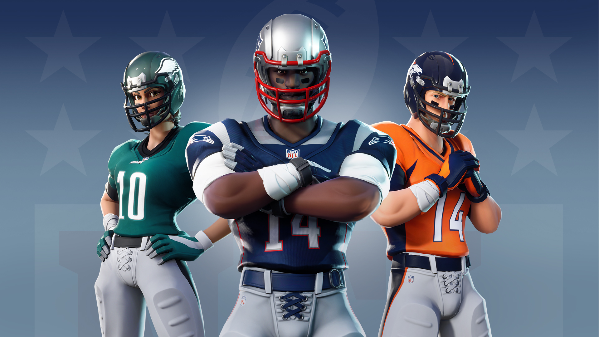 Official Licensed NFL Skins Coming To Fortnite